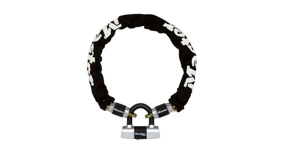 Masterlock Criterion Kettenschloss mit Mini U-Bar 10 mm x 1000 mm schwarz/silber